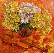 Melody Painting Originals - Melody Of Autumn by Aleksandr Mironov