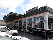 Hamburger Restaurants Art - Mels Drive-in Diner in San Francisco - 5D18041 by Wingsdomain Art and Photography
