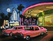 Rock And Roll Painting Originals - Mels Drive In Two by John Malone