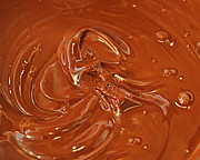 Stirring Posters - Melted Chocolate Poster by Andee Photography