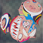 Murakami Art - Melting DOB D by Takashi Murakami