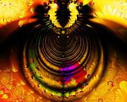 Wingsdomain Art and Photography - Melting Pot . Gold . Horizontal Cut . S8a.S11