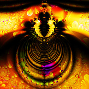 Wingsdomain Art and Photography - Melting Pot . Gold . Square . S8a.S11
