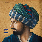 Turban Framed Prints - Mem Sofit Framed Print by Jose Luis Munoz Luque