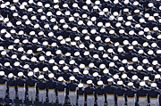 Combination Photos - Members Of The U.s. Air Force Academy by Stocktrek Images