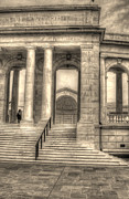 National Memorial Prints - Memorial Amphitheater Print by Greg and Chrystal Mimbs