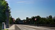 Memorial Avenue Bridge Roanoke Virginia Print by Teresa Mucha