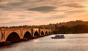 Boat Cruise Photo Prints - Memorial Bridge II Print by Steven Ainsworth