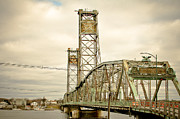 Memorial Bridge Portsmouth Nh Print by Debbra Obertanec