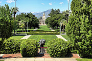 Mariola Framed Prints - Memorial Chapel University of Redlands Framed Print by Mariola Bitner