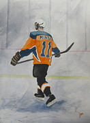 Hockey Paintings - Memorial by Jon Ellis