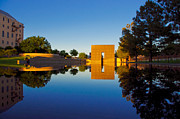 Oklahoma City Bombing Posters - Memorial Reflections Poster by Steven Boyd
