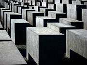 Jews Posters - Memorial to the Murdered Jews of Europe Poster by RicardMN Photography