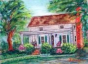 House Pastels - Memories 1 by Sandy Hemmer