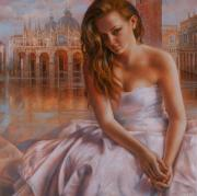 Art  Portraits Paintings - Memories by Arthur Braginsky