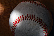 Baseball Seams Photo Metal Prints - Memories Metal Print by Bill Owen