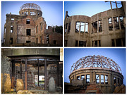 Atomic Bomb Photos - Memories of Destruction by Roberto Alamino