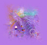 Party Digital Art - Memories of Mardi Gras by Lori Seaman