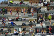 2011 Prints - Memories of the 2011 Boston Marathon Print by Juergen Roth