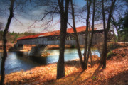 Covered Bridges Photos - Memories of Yesterday by Joann Vitali