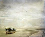 Boat Digital Art Prints - Memories Print by Photodream Art