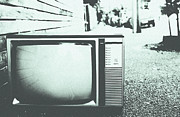 Old Tv Prints - Memory Loss Print by Andrew Paranavitana