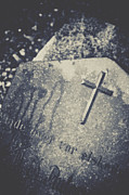 Headstone Photos - Memory by Odd Jeppesen