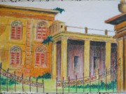 Calcutta Paintings - Memory Recalls by Shubhankar Adhikari