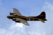 Flying Photos - Memphis Belle by Bill Lindsay