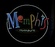 Memphis Photos - Memphis Music Neon Sign by Carol M Highsmith