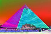 Pyramids Framed Prints - Memphis Pyramid Framed Print by Jan Amiss Photography