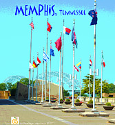 Framing Posters - Memphis Today Poster by Karen Francis