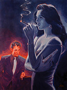 Novel Originals - Men and Cigars were the same to Zelda- If you got em - SMOKE em by Shawn Shea