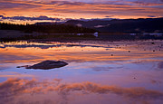 Calm Originals - Mendenhall Sunset by Mike  Dawson