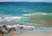 Seacape Originals - Mendocino Coast-Ocean View by Suzanne Giuriati-Cerny