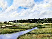 Menemsha Marsh Print by Paul Gardner