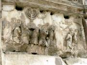Slavery Art - Menorah on the Arch in Roma by Mindy Newman