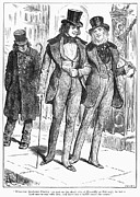 Piccadilly Prints - Mens Fashion, 1880 Print by Granger