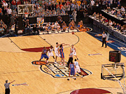 Championship Photos - Mens NCAA Basketball Championship by David Bearden