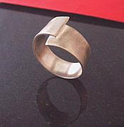 Ring Jewelry Originals - Mens Off Center Ring by Aimee Koester