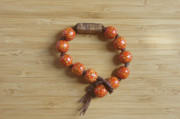 Wood Jewelry Jewelry - Mens peace bracelet by Opal Cintron-Heese