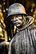 Korean War Memorial Photos - Mental Seclusion by Christopher Holmes