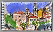 Architectur Originals - MENTON  french riviera by Chevassus-agnes Jean-pierre