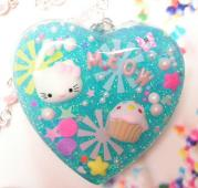 Resin Jewelry - Meow Mix with Kitty by Razz Ace
