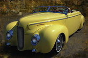 Mercury Hot Rod Photos - Merc Eight Roadster by Bill Dutting