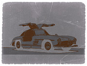 Concept Cars Prints - Mercedes Benz 300 Print by Irina  March