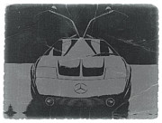 German Classic Cars Prints - Mercedes Benz C Iii Concept Print by Irina  March
