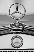 Mercedes Benz Hood Ornament 2 Print by Jill Reger