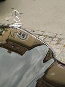 Mercedes Logo Print by Odon Czintos