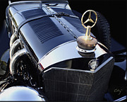 Kirkland Prints - Mercedes Stars and Straps Print by Curt Johnson